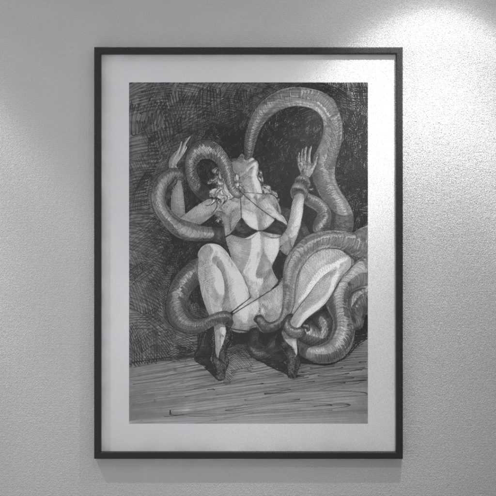 Original explicit drawings for sale