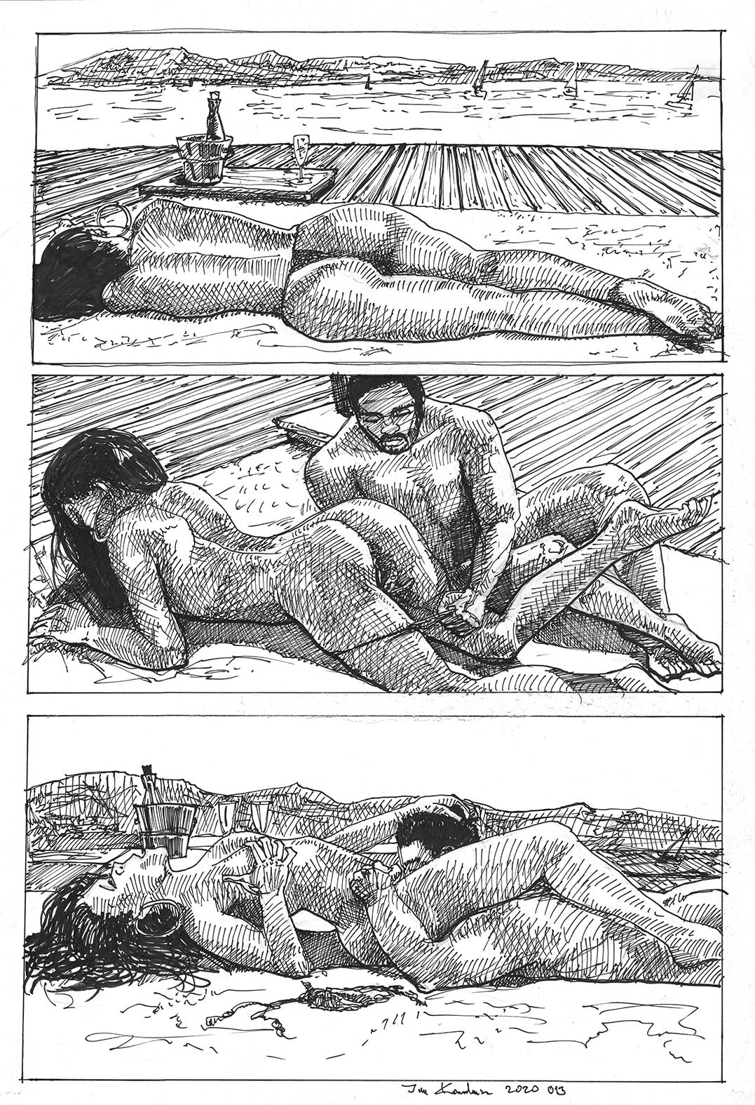 short erotic graphic story for a customer by jan kowalewicz jandrawserotica