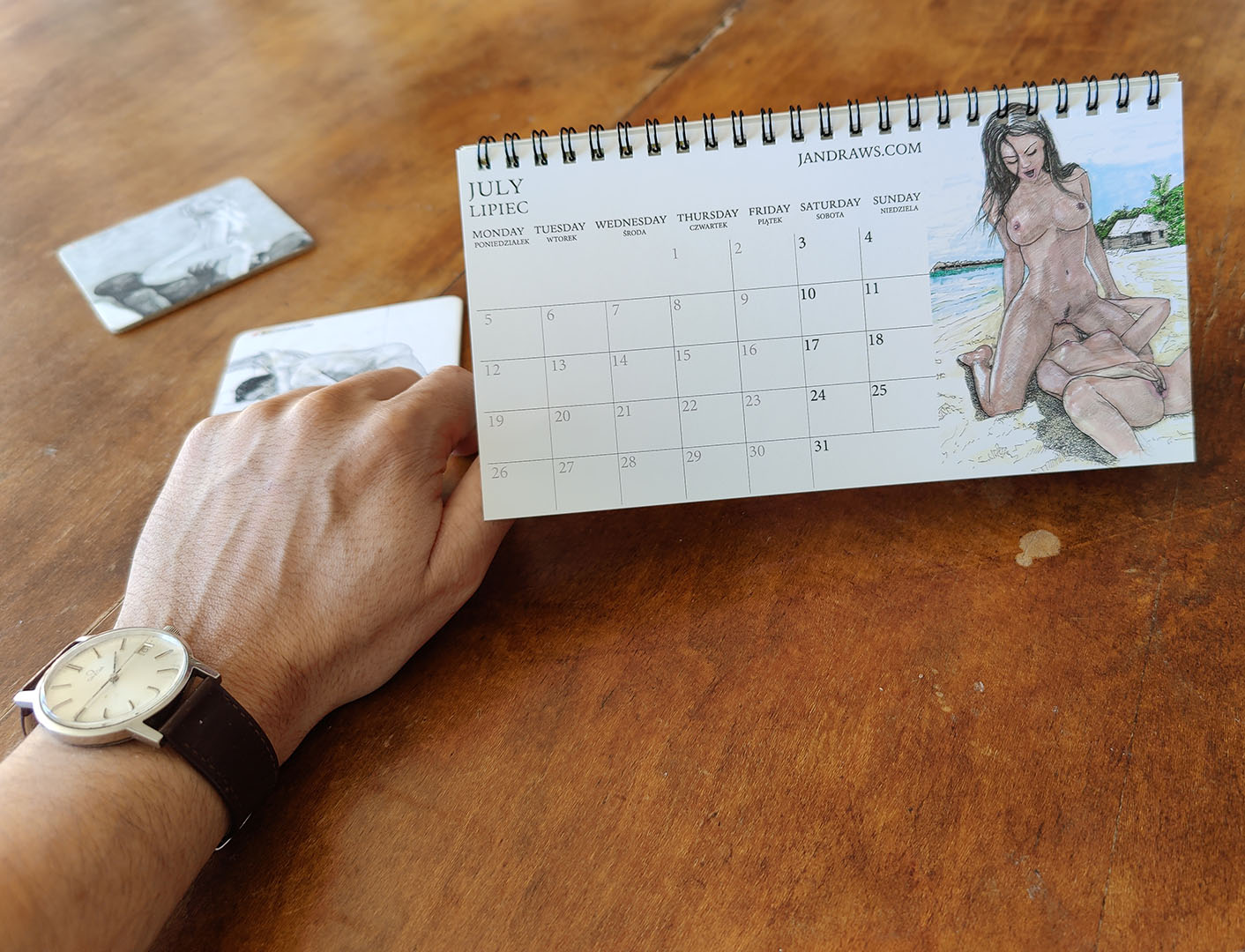 erotic art calendar 2021