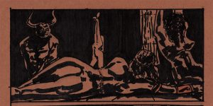 minotaur erotic graphic novel frame comic book