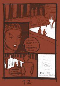 minotaur myth story jan kowalewicz draft storyboard